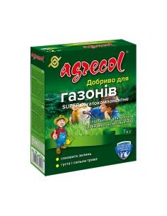 Добриво для газонів super багатокомпонентне 1 кг 20-5-9,4 Agrecol