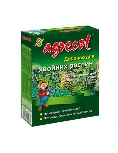 Удобрение для хвойных растений 14-14-21 1кг Agrecol
