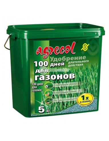 Удобрение для газона 100 дней