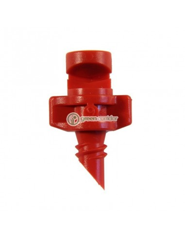 Single Piece Jet 180° Red