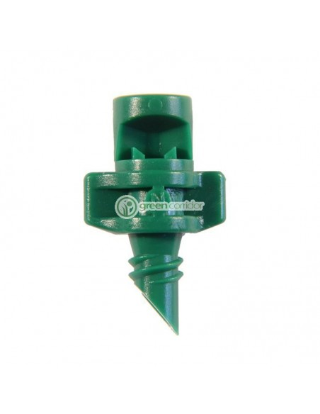 Single Piece Jet 90° Green