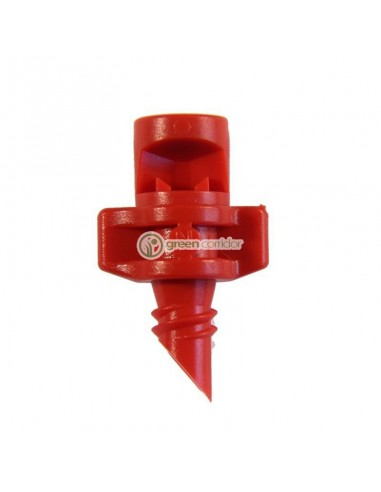 Single Piece Jet 90° Red