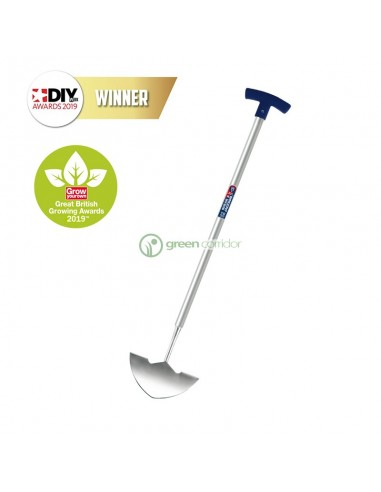 Обрезной нож для окантовки травы с алюминевой ручкой Spear&Jackson