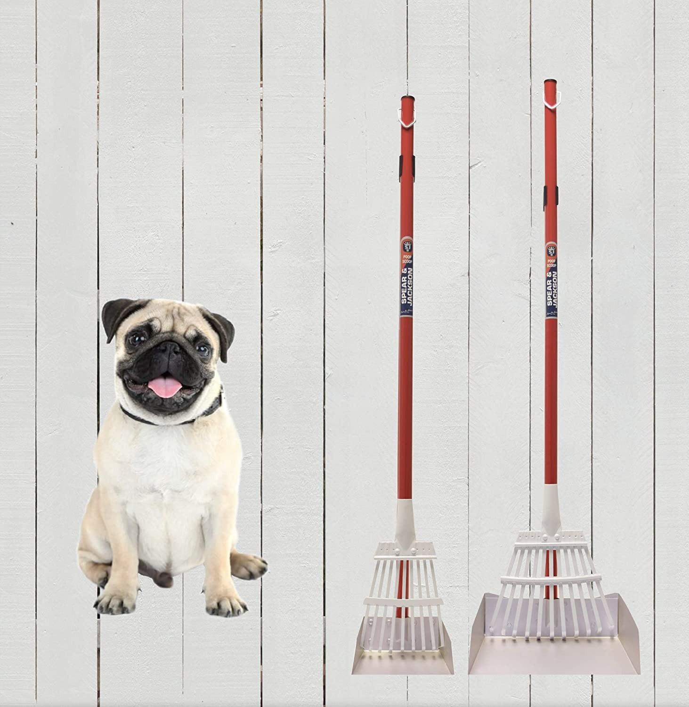 большой совок для уборки за животными